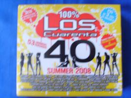 Neu, OVP Musik CDs 3 Audio CD, Los Cuarenta 40 Summer 2008 Box-Set, Party Schnäppchen