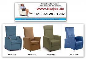 Foto 2 Neuartige Sessel Generation bei Rückenerkrankung