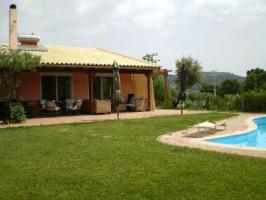 Neubau Fertigbauhaus auf Evia/Griechenland