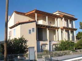 Neubau Fertigbauhaus auf dem Peloponnes/Griechenland