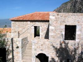 Neubau Natursteinhaus nahe der Stadt Kalamata/Griechenland