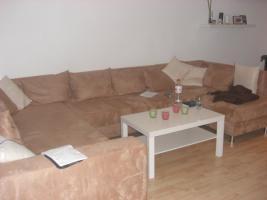 Neuwertiges Riesen-Sofa zu verkaufen, Farbe Beige