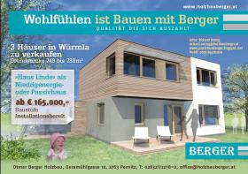 Niedrigenergie - Passivhausprojekt in Würmla