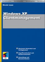 Niegelnnagel neues WINDOWS XP CLIENTMANAGEMENT Buch!!!!