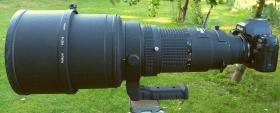 Foto 2 Nikon Nikkor ED 2.8 /400mm MF AIS
