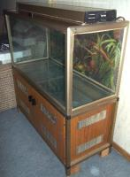 Foto 3 Nostalgie Aquarium ca. 200 Liter mit Schrank