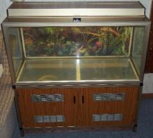 Foto 4 Nostalgie Aquarium ca. 200 Liter mit Schrank