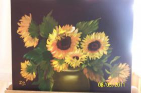 Sonnenblumen Im Tontopf