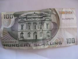 Foto 2 Österreichische Schillinge, 20 und 100