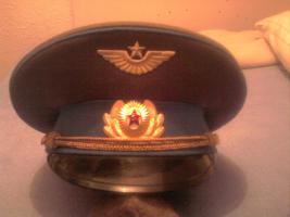Offiziers Schirmmütze der sowjetischen Luftstreitkräfte