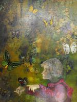 Foto 2 Oilgemalde auf holzplatte-Ungarisches Kunst