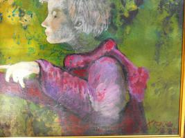 Foto 3 Oilgemalde auf holzplatte-Ungarisches Kunst