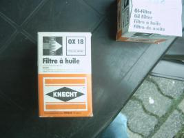 Olfilter --Knecht OX 18 Ford