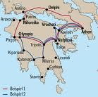 Olivenhain in Griechenland