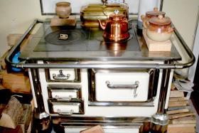Omas alter Küchenherd