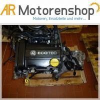 Opel Corsa C 1,0 12V Z10XE Motor mit Anbauteile 43Kw/58Ps