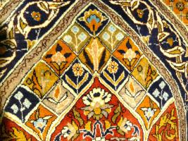 Foto 3 Orientteppich Ghom mit Seide 155x110 (T036)