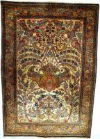 Orientteppich Ghom Seide 158x110 alt (T093)