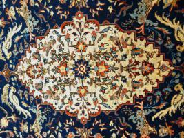 Foto 2 Orientteppich Teheran um 1900, 205x132 TOP (T085)