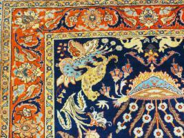 Foto 4 Orientteppich Teheran um 1900, 205x132 TOP (T085)
