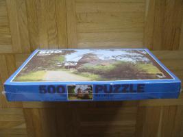 Foto 2 Original 500 Teile PUZZLE, Windmühle