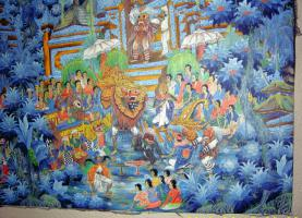 Foto 6 Original Balibild - Königliche Totenzeremonie auf Bali
