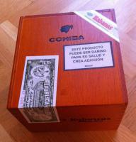 Original COHIBA Robustos Zigarren, Box mit 25 Stk. (versiegelt, mit Zertifikat)