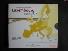 Original-EURO-Kursmünzensätz Luxemburg 2010