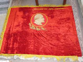 Original-Fahne der ehemaligen Sowjeunion