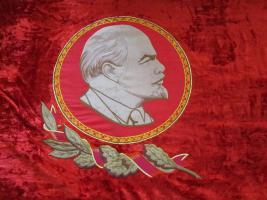 Foto 2 Original-Fahne der ehemaligen Sowjeunion