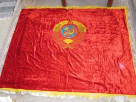 Foto 3 Original-Fahne der ehemaligen Sowjeunion