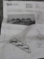 Foto 4 Original Fahrradträger/Skiträger für Audi 80 Combi