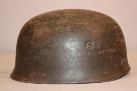 Foto 2 Original German WW2 Fallschirmjager M38 Helmet/ET68