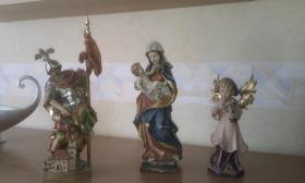 Foto 4 Original Grödner Holzschnitzfiguren