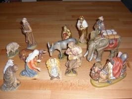 Foto 2 Original LEPI Krippenfiguren aus Holz. Top Zustand