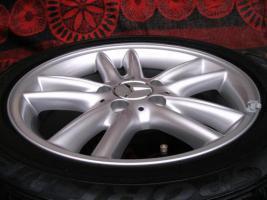 Original Mercedes-Benz Nabendeckel mit Chromstern  - neu - 1 Satz = 4 Stück