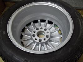 Foto 3 Original Mercedes Benz Sportline Alufelgen 15 Zoll ;7J x 15 H2 ET 44 mm ; 15 Loch Felgen !
