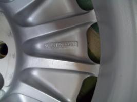 Foto 4 Original Mercedes Benz Sportline Alufelgen 15 Zoll ;7J x 15 H2 ET 44 mm ; 15 Loch Felgen !