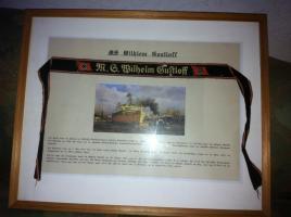 Original Mützenband Wilhelm Gustloff