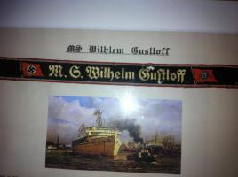Foto 2 Original Mützenband Wilhelm Gustloff