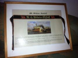 Foto 3 Original Mützenband Wilhelm Gustloff
