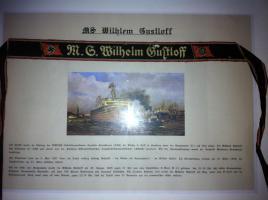 Foto 4 Original Mützenband Wilhelm Gustloff