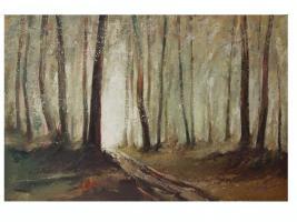 Original Ölgemälde Gemälde Ölbild Bild Kunst Landschaft
