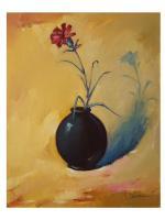 Original Ölgemälde Gemälde Ölbild Bild Kunst Stillleben