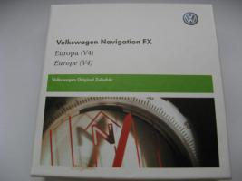 Original VW- Navi CD´s, neu RNS 310 FX-V4