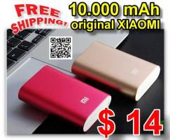 Original XIAOMI Pocket 10000mAh mobile Power Bank $ 14 – frei Haus