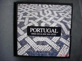 Originale-Euro-Kursmünzensatz Portugal 2010