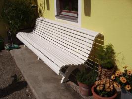 Foto 7 Originale bayrische  Hausbank mit Wetterschutzfarbe behandelt