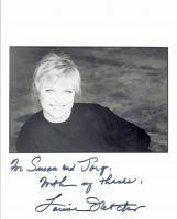 Oscar-Gewinnerin LOUISE FLETCHER Autogramm/Widmung auf Großfoto.