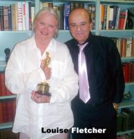 Foto 4 Oscar-Gewinnerin LOUISE FLETCHER Autogramm/Widmung auf Großfoto.